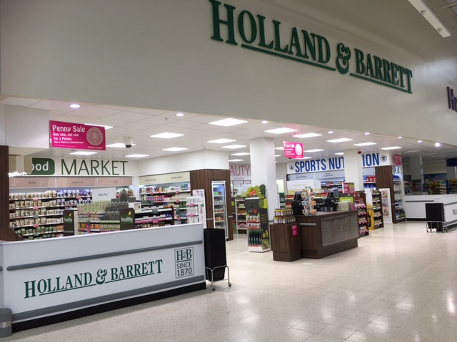 Holland & Barrett at Tesco Dudley